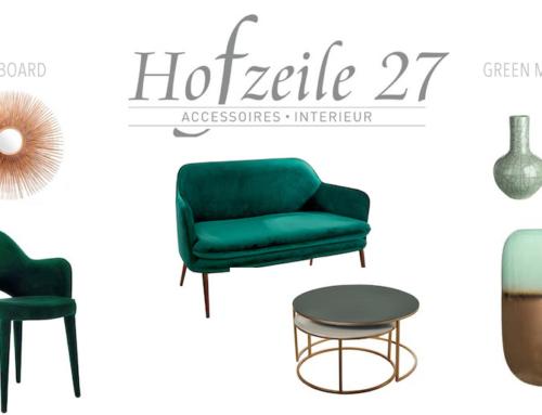 Styleguide – green meets gold